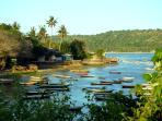 Fascinating Lembongan Village is a short walk from Villa Bahagia.
