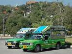 The green bus (song thaews) would come pass the condo every 15 mines to go to centre of town. Simply