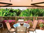 Maui Kamaole K 209  Sun Deck With Retractable Shade