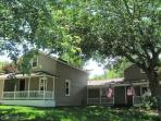 The home gives a true warm roomy feel with a great location close to the beach & downtown areas.