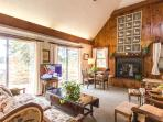 Main Living Room opens to Deck with Gorgeous Waterview