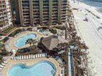 Great gulf front pool area for loads of fun! Tiki bar!