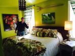 Guest in the Green Acres Bedroom