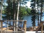 Shoreline lake view - Cabin in Lambs Cove