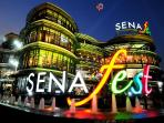 700 Meters to Sena Fest where you can grasp Starbucks Coffee as well as Thai, Chinese, Korean, Japan