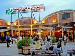 Asiatique The Riverfront: take 1 BTS Station then take free Boat to spend your dinner here