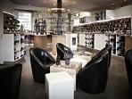 Le Vignoble - Lovely wine bar downstairs open every day.