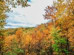 Fall Views at Smoky's Mountain View 2015