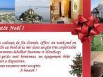 Venez fêter Noël à Hauteville sur mer.
