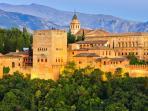 Incontournable Alhambra de Grenade !