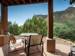 Enjoy your private patio off the lower level master bedroom