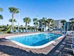 Pinnacle Port Outdoor Swimming Pool - Pinnacle Port has 2x pools for guests to enjoy!  One pool is partially indoors...