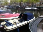 Boat to rent on request, only during the summer!