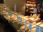 bakeries: every 3 hours fresh bread