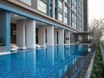 5th Floor swimming pool, deck chairs, and outdoor area