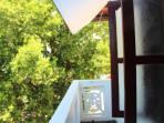Balcony at the Master Bedroom