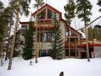 Happy Trails Lodge in Winter