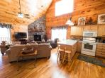 Skiing? Slopes are open and ready are you? 3/3 Log  cabin sleeps 6. Easy winter-time roads. $145