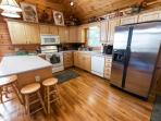 Spacious to handle 6 friends, 3 couples, families with children. Dishwasher to keep your time free!