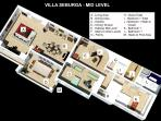 VILLA SEBURGA -MID LEVEL IN 3D