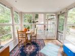 Enclosed sun room/back porch Entrance