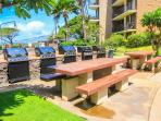 KAUHALE MAKAI, #431 - Barbecue Area with Picnic Tables