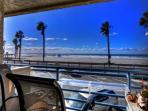 Constant ocean breezes and views, perfect for people watching as well.