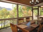 Screened In Porch Dining