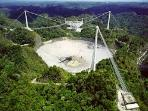 Arecibo Observatory, the world's largest and most sensitive radio telescope.