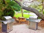 One of 2 BBQ Areas on Bay Side Property