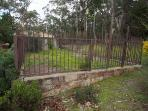 Secure puppy garden for days guests are heading into the national park