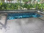 A secluded spot for a relaxing Jacuzzi on the 4th floor