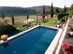 The swimming pool.....under the Tuscan sun                                     .
