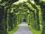 Bir Castle Arch Garden