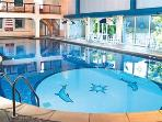 Swimming Pool (refurbished winter 2015) stock photo