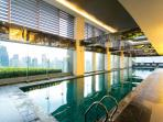 25m lap pool at the 36th floor