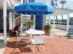Communal Front Patio Overlooking the Beautiful Clearwater Intercoastal