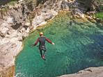 Canyoning excursions.
