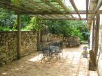 Private terrace : Le Figuier.