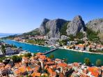 Omiš 15km, view from the fortress