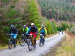 We are minutes from the best mountain biking in the UK