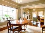 Dining room open to Living room Trip Advisor Photo 2/16