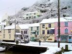 Photos of picturesque village of Polperro in Cornwall taken within 2-3mins walk of Minnies Cottage