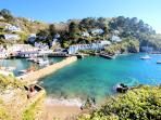 Photos of picturesque Polperro in Cornwall taken within 4-5 mins walk of Gull Cottage
