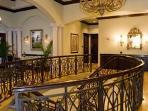The elegant interior of the Vasari Clubhouse