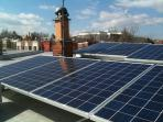 Solar panels, out of sight on the roof but quietly reducing your footprint.