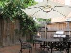 The patio has a propane grill and is fully fenced.