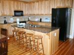 Kitchen has Granite Countertops