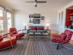 Large Living Room with Queen Sleeper Sofa