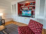 Living Room has SmarTV, Blu-Ray and Sonos SoundBar